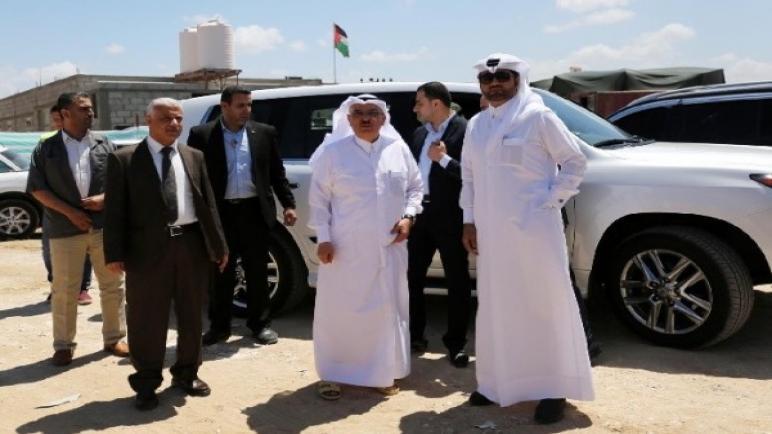السفير محمد العمادي رئيس اللجنة القطرية لإعادة إعمار غزة يصل غزة يوم الخميس