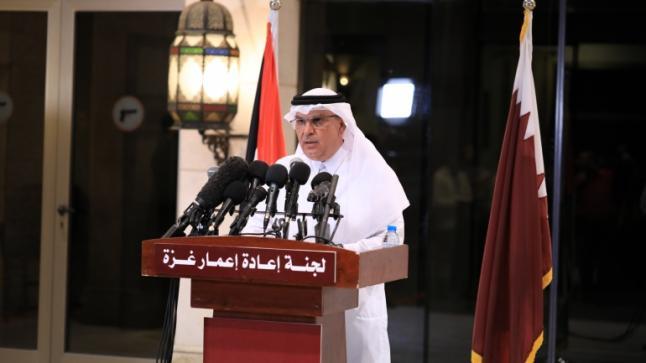 السفير القطري محمد العمادي يصل غزة الثلاثاء المقبل