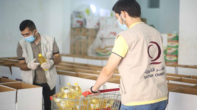 التنمية الاجتماعية وقطر الخيرية توقعان إطار عمل مشروع السلات الغذائية