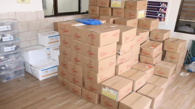 وزارة التنمية الاجتماعية توزع مساعدات عاجلة على المتضررين