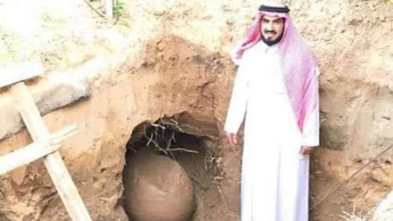 """هذه قصة """"الجرة"""" التي عثر عليها سعودي في استراحته"""